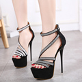 women high heel sandals platform pumps ladies dress shoes sexy heels platform sandals women heels shoes crystal sandals D1033