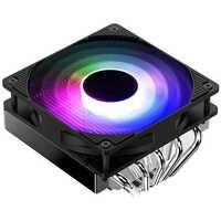 Jonsbo Cr-701 5 tubo de calor para baixo pressão cpu radiador 12 cm ventiladores silenciosos refrigeração 256 cor mudança automática rgb luz cpu cooler