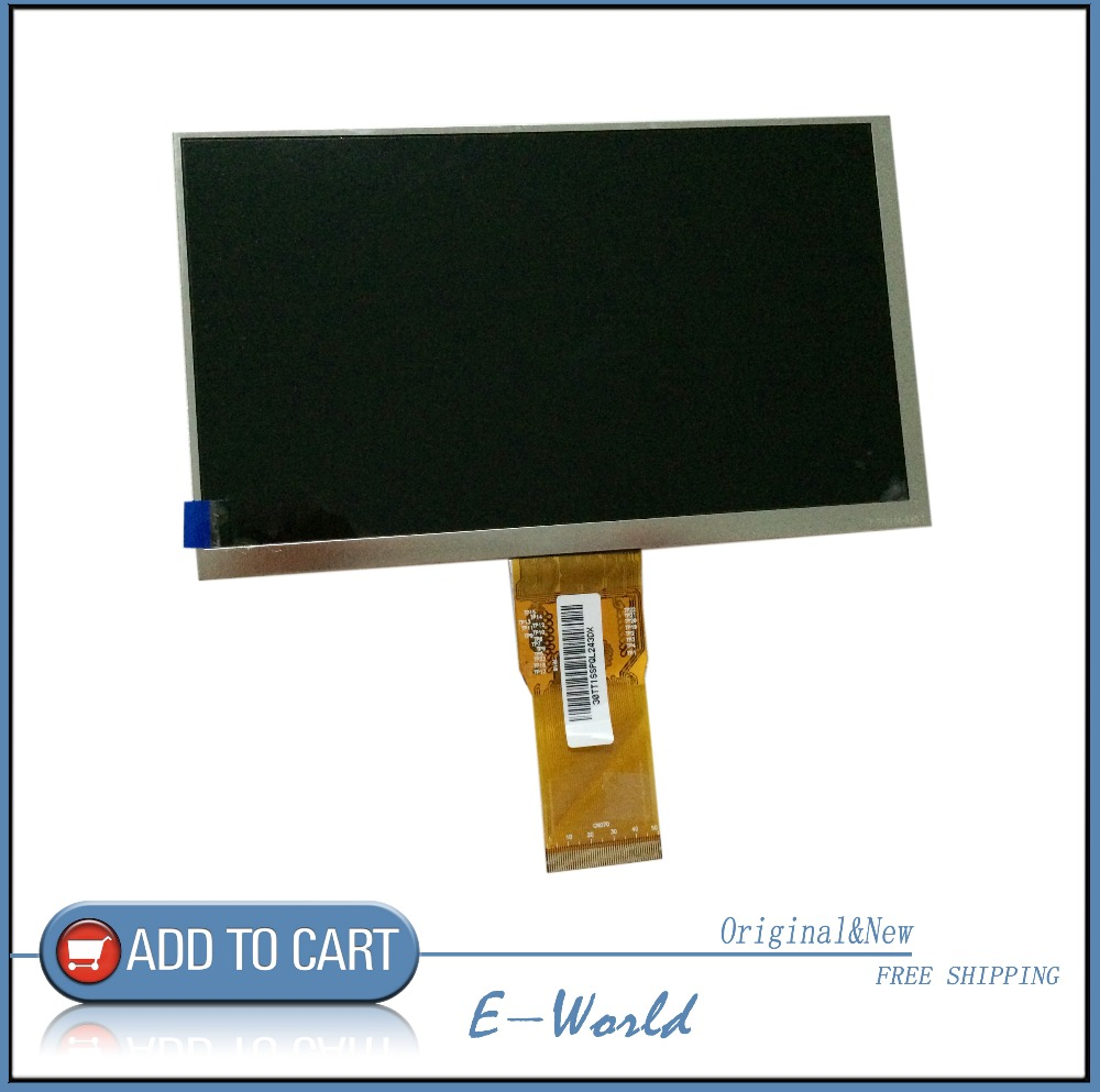 Original and New 7inch 50pin LCD screen 7300130906 E231732 for tablet pc free shippingOriginal and New 7inch 50pin LCD screen 7300130906 E231732 for tablet pc free shipping