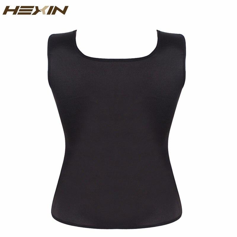 Plus Size Shapewear Women's Neoprene Sweat Sauna Vest Waist