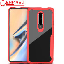 For Oneplus 7 Full Fitted Case For Oneplus 7 5 6 5T 6T Clear Hard PC Soft Silicon Edge Back Cover One Plus 7 Shockproof Case(China)