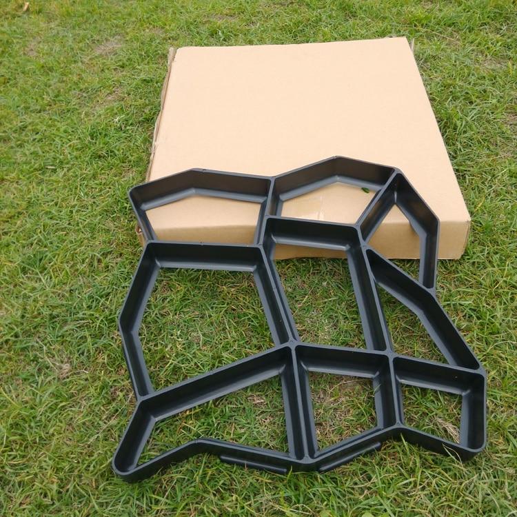 Высокое качество садовый инструмент path-mate DIY каменная мостовая форма для изготовления дорожек для вашего сада/форма для производства брусчатки