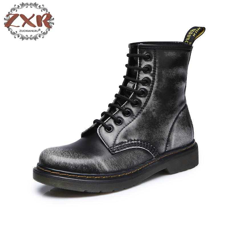New High Quality Genuine Leather Male Shoes Non-slip Warm Men Boots Martin Motorcycle Autumn Winter Lover Snow Low-heeled Boots backcamel 2018 autumn winter new men s outdoor sports shoes high top non slip wear men boots high quality sneaker size 39 47
