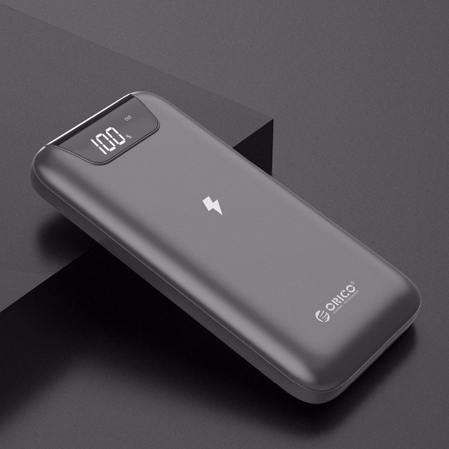 10000 mAh Power Bank with LED Display for Mobile Phone