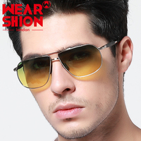 WEARSHiON Fashion Polarized male Sunglasses Men Brand Designer Aviator Sunglasses Vintage Sunglasses Men Sun Glasses 2016