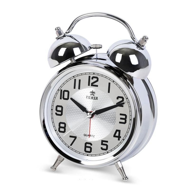 POWER Luminoso Mecánico Despertador Silencioso Cronómetro - Decoración del hogar - foto 1