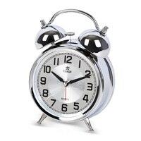 POWER Luminous Mechanical Alarm Clock Silent Stopwatch Movement Alarm Clocks Timer Table Clock Digital/Roman Numerals Saati