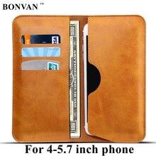 Роскошные бумажник телефон кожаный мешок case чехол для айфон 7 6 6s plus 5 5s чехол на самсунг galaxy s7 edge s6 s8 xiaomi mi5 redmi 4 pro 3s note 3 4 4x чехлы на телефон