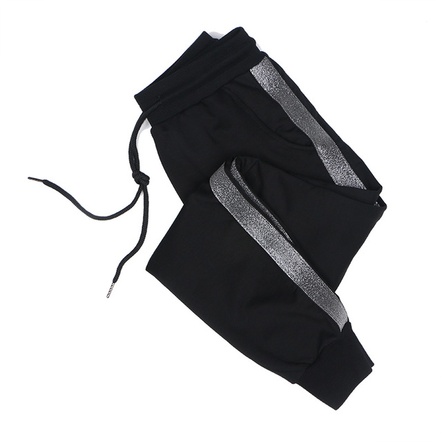 Extra large size women's trousers fat mm spring and autumn loose Harlan trousers leisure pants super size women's guard trousers