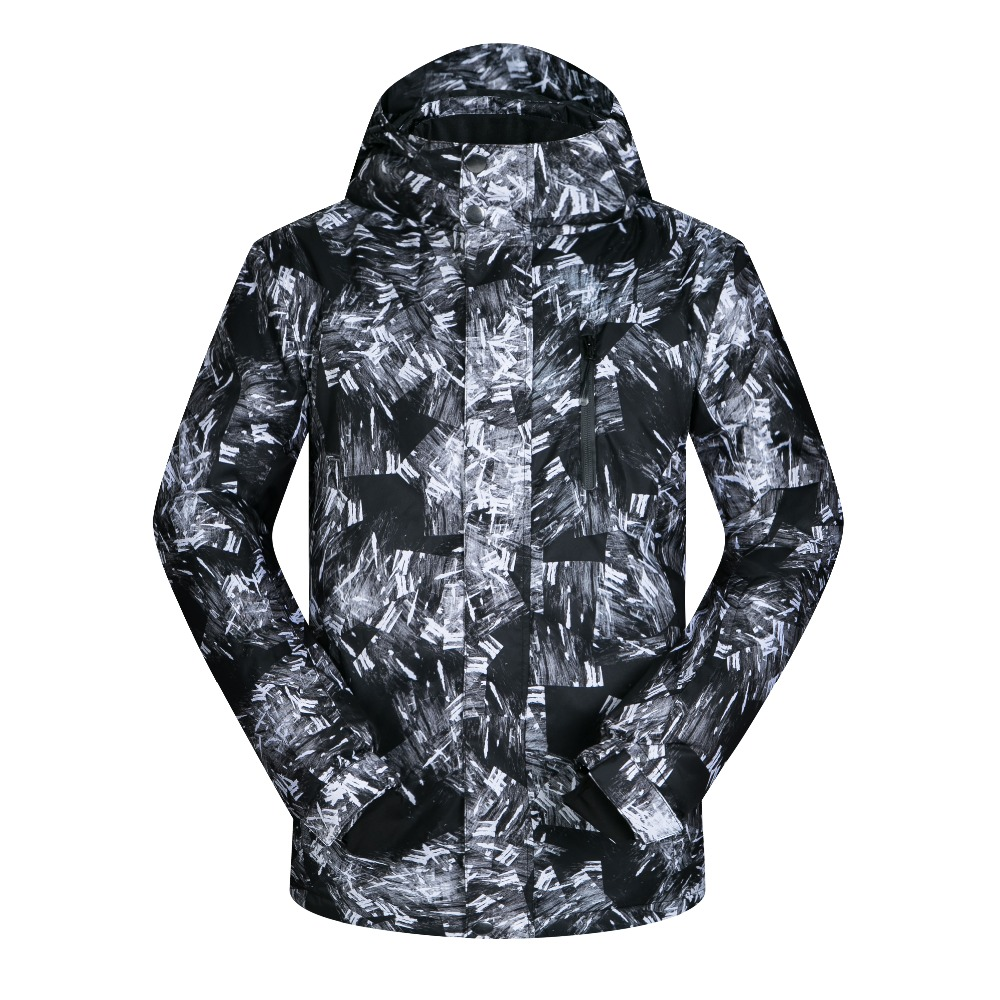 2017 New High Quality Ski Jackets Men Windproof  Waterproof Warmth Snowboard Coat Snow Skiing Winter Sportswear Clothing Brands 2017 new outdoor sports men ski jackets high quality windproof waterproof winter snow snowboard coat hooded thicken warm brands