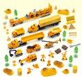 Un conjunto de Metal de Juguete Modelo de Coche de Lujo Coche De Plástico Barato tractor retro dinky toys avión voiture enfant gif educativos de alta calidad