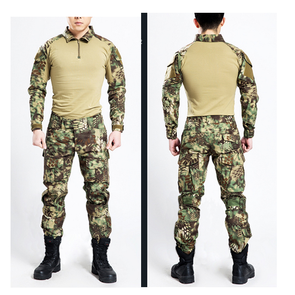 Mardrake Kryptek Frog Suits Navy seals combat frog suit 2015 Tactical frog suit US military Army uniforms (Jacket +pants)