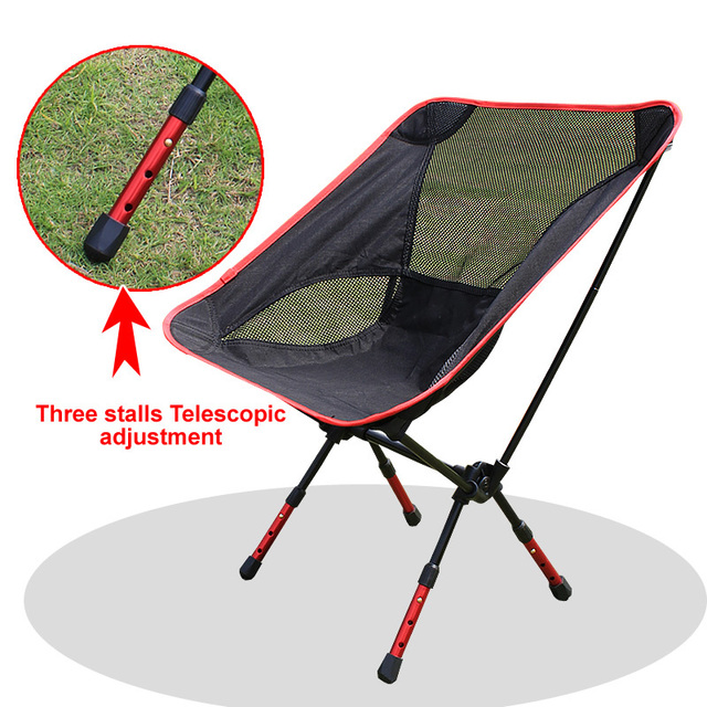 New Arrivel High Quality Barbecue Portable Folding Chairs Camping Lightweight Stool 4 Colors Free
