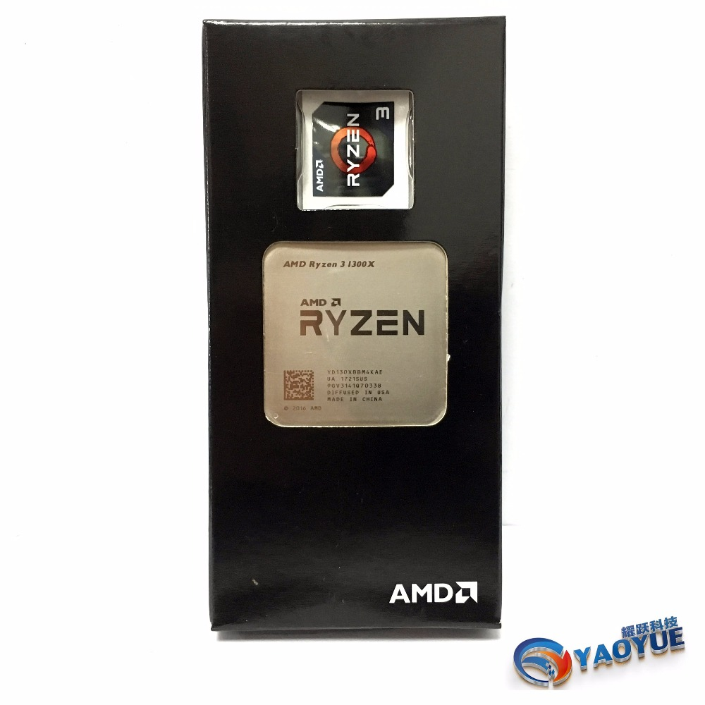 AMD Ryzen 3 1300X PC Computer Quad-Core Processor AM4 Desktop Boxed CPU 100% Original