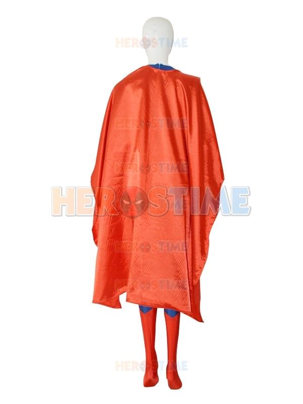 Deep Blue & Red Steel Superman Costume The New Lycra Spandex Superman - Carnavalskostuums - Foto 5
