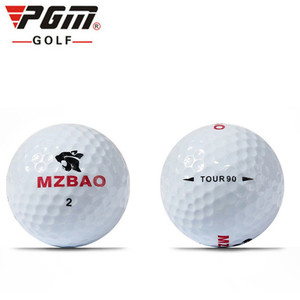 Image 5 - 2018 Promotion Limited 80   90 Balle De Golf Match Game Scriptures Pgm Golf Balls Lol Floorball Sport Practice Three layer Ball