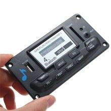 New Digital LED Bluetooth 4.0 APE FLAC WAV WMA MP3 Decoder Board Smart Control With Recording 12V Audio Decoder Board Decoders