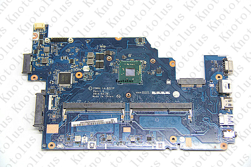 NBMPK11001 Z5WAL LA-B211P for Acer Aspire E5-511 E5-511-P8E8 laptop motherboard 15.6 Pentium HD Graphics Free Shipping 100% test nbmlg11005 nb mlg11 005 for acer aspire e5 521 e5 521g laptop motherboard z5wae la b231p cpu onboard with discrete graphics