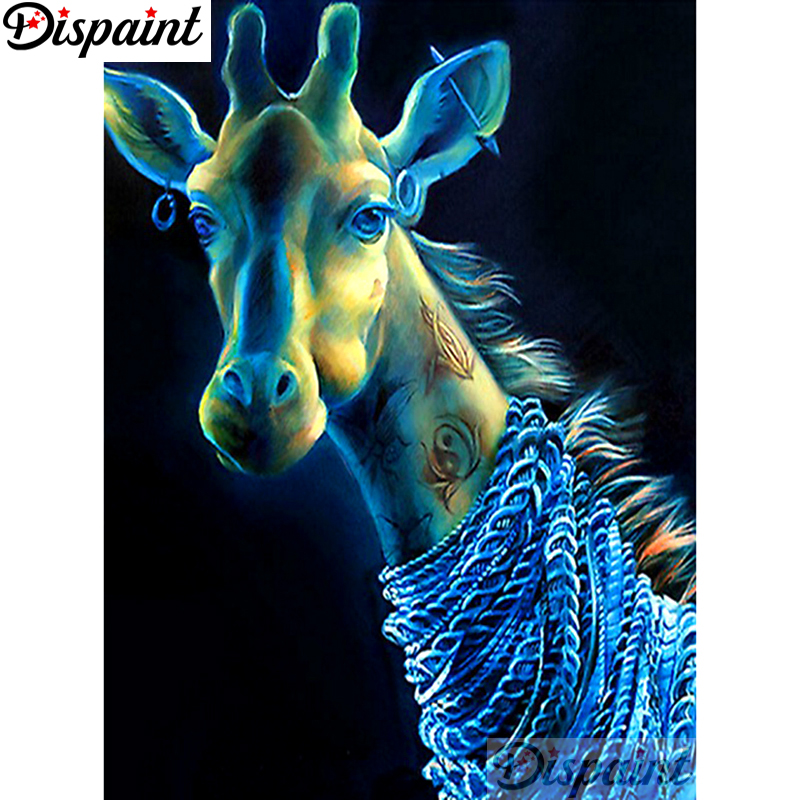 Dispaint 5D Diamond Painting Full Drill Diamond Embroidery quot cartoon animals quot Picture Of Rhinestone Handmade Home Decor A12771 in Diamond Painting Cross Stitch from Home amp Garden