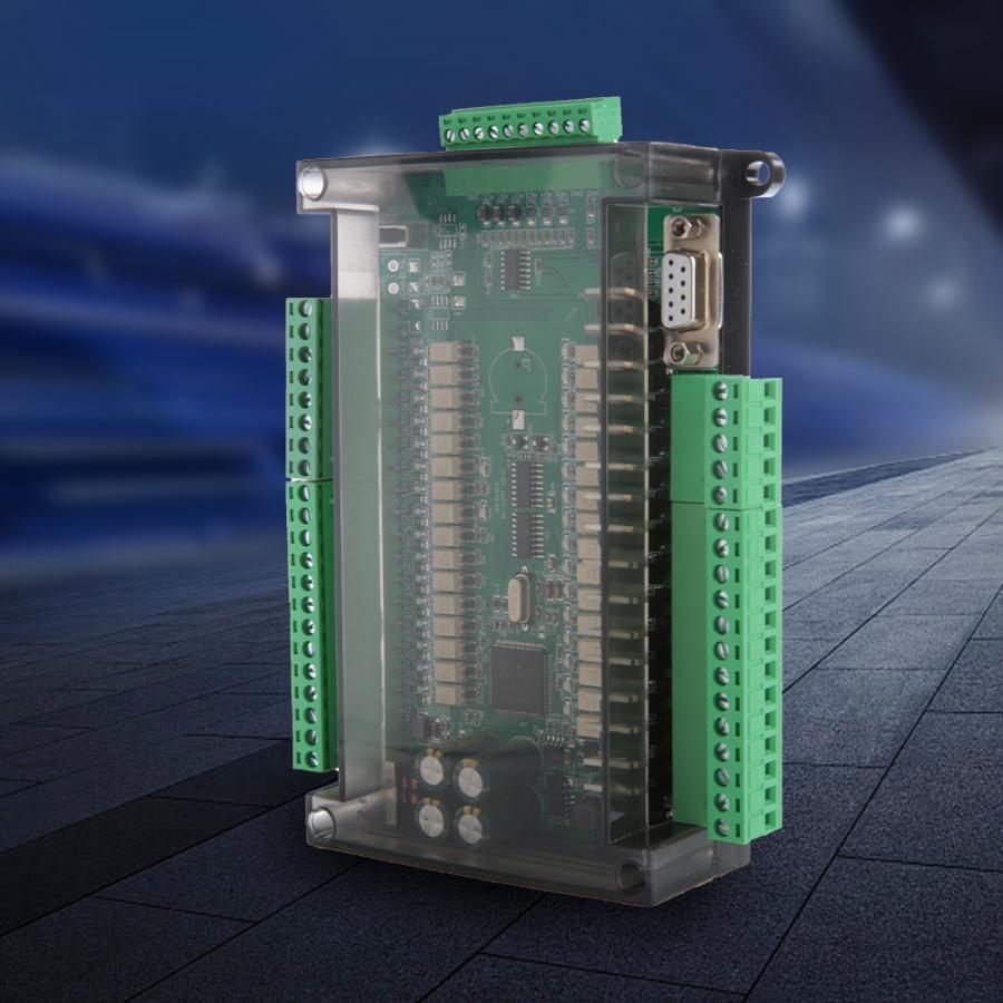 Programmable Logic Controller High Speed PLC Industrial Control Board 16 Input 16 Output 24V 1A FX3U-32MT Module