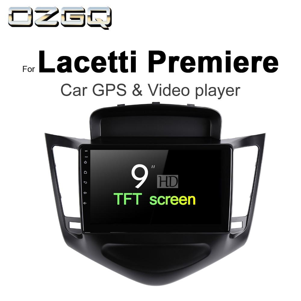OZGQ Android 7.1 Car Player For Daewoo Lacetti Premiere 2008-2016 HD Screen Auto GPS Navigation BT Radio TV Audio Video Stereo монитор жк philips 221b7qpjeb 00 01 21 5