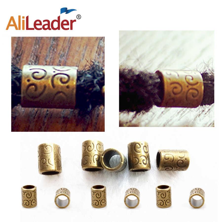 Nuevos productos, accesorios de anillo de Metal para el pelo para rastas, cuentas para extensiones de pelo, cuentas de cobre/puños/Clips para pelucas