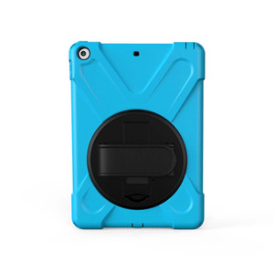 Image 3 - For iPad 2 / 3 / 4 Shockproof Kids Protector Case For iPad2/3/4 Heavy Duty Silicone Hard Cover kickstand design Hand brace
