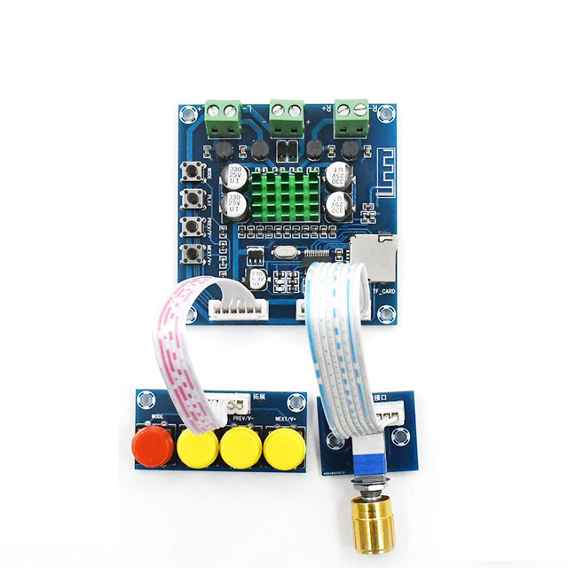 XH A231 TF Bluetooth Digital Amplifier 15W+15W stero audio amplifier With Volume adjustment DC 12 24V