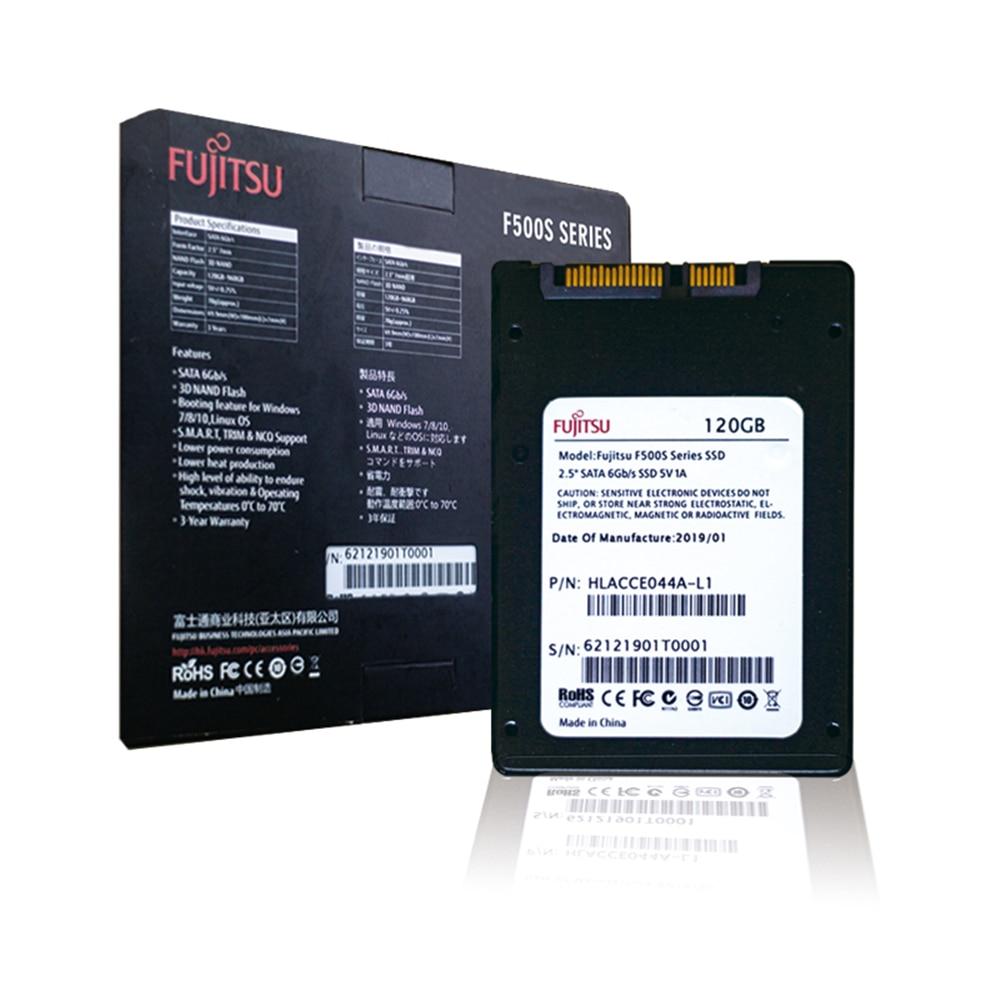 FUJITSU ssd 240 gb 2.5inch 120 gb 480GB SATA 6Gb/s TLC Read/Write Speed 500MB/s 3year warranty Solid State Drives for PC laptop 57