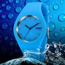 Watch Women SKMEI brand luxury Fashion Casual quartz watches leather sport Lady relojes mujer women wristwatches Girl Dress 9068