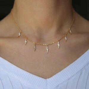 Ожерелье с кисточками, многослойное Золотистое Ожерелье для женщин и девочек