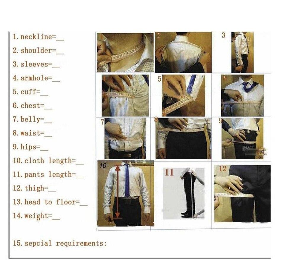 Venta caliente Customizado Trajes de Esmoquin de Novios Trajes de - Ropa de hombre - foto 5