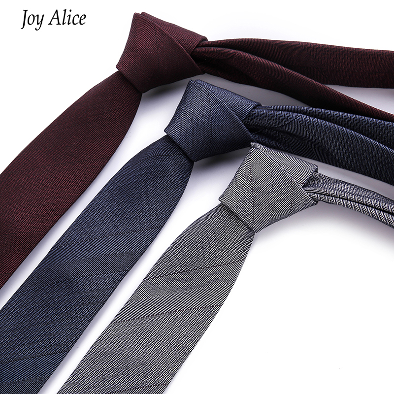 2018 Fashion Design Brand 6 Cm Necktie Cotton Ties For Men Wedding Plaid Corbatas Party Slim Gravatas Tie T29-2 Drop Shipping