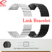 EIMO Strap for Apple Watch band 4 Link Bracelet iwatch band 42mm 38mm 44mm 40 Stainless Steel gen.6 Wrist Watchband Accessories