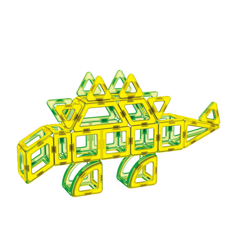 107 Pcs/lot Diy Magnetic Building Blocks Magnetic Construction Blocks Ferris Wheel Toys 3d Magnetic Designer Educational Bricks mtele brand 62 pcs pcs magnetic tiles designer construction kids educational toys creative bricks enlighten toy