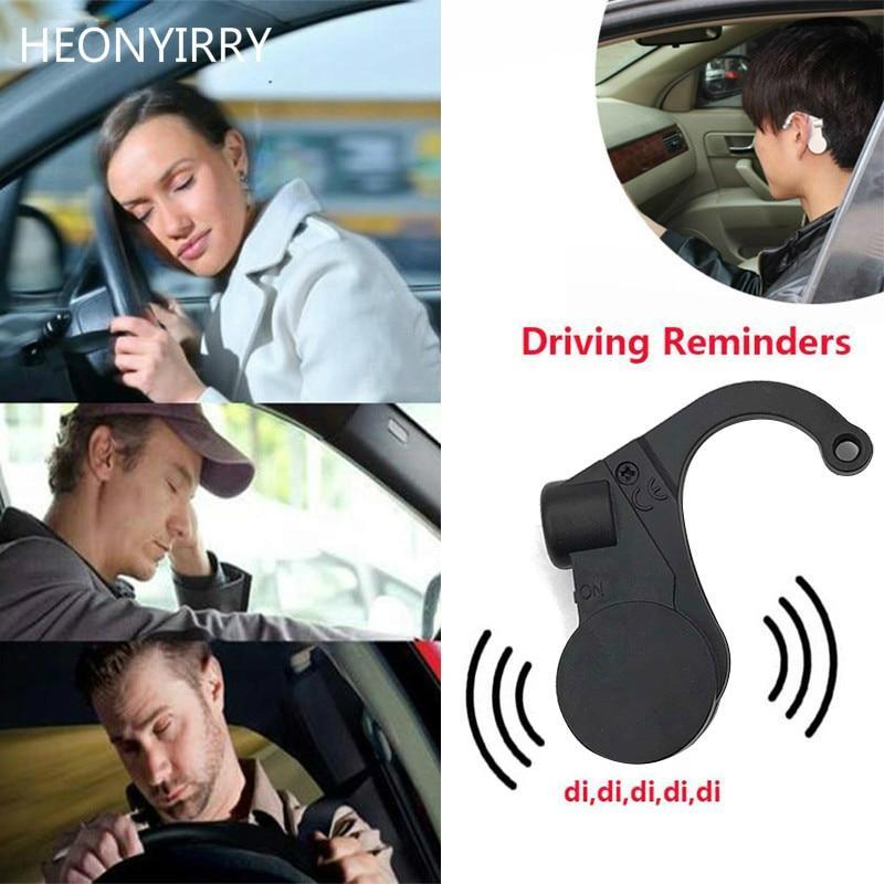 2pcs Ear Alarm Car Safe Device Anti Sleep Drowsy Alarm Alert Sleepy Reminder For Car Driver To Keep Awake Car Accessories