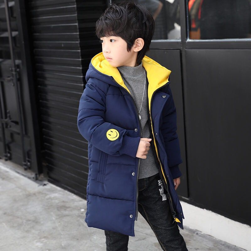 2018 New Baby Boys Coat Hooded Children Cotton Down Toddler Boys Winter Jacket for Boys Kids Warm Outerwear Parks Snowsuits 12 5 14y high quality boys thick down jacket 2016 new winter children long sections warm coat clothing boys hooded down outerwear