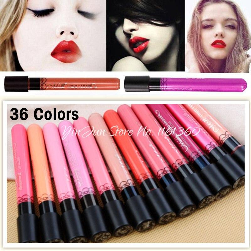 Discount ~ Hot Langdurige Matte Lipstick 36 kleuren Fluweel Hoge - Make-up