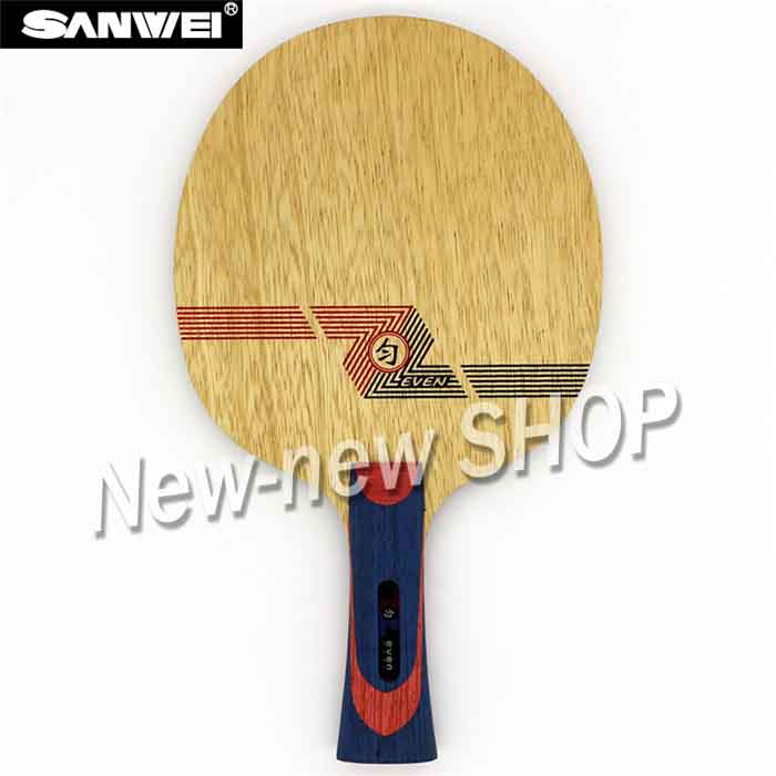 Sanwei WHITE EVEN (BY-1091) Table Tennis Blade (10+9 Soft Carbon, For 40+) Racket Ping Pong Bat Paddle