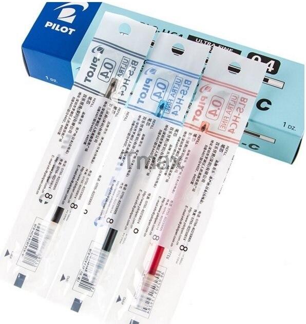 Pilot BLS-HC4 Gel Ink Pen Refill for Fiance BallPoint pen BLLH-20C4 0.4mm  3 colors  Writing Supplies Office & School Supplies
