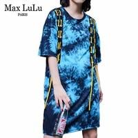 Max LuLu Korean Fashion Luxury Summer Ladies Sexy Clothes Womens Punk Mini Dresses Printed Camouflage Vestidos Casual Streetwear