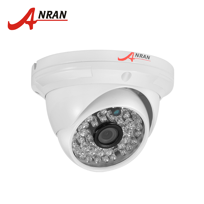 ANRAN New Listing 1/2.7'' Color CMOS Sensor AHD 1080P CCTV Camera IR Cut Filter Night Vision Dome Surveillance Camera 4 in 1 ir high speed dome camera ahd tvi cvi cvbs 1080p output ir night vision 150m ptz dome camera with wiper
