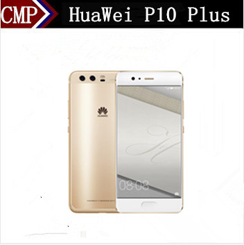 "Original HuaWei P10 Plus 4G LTE Mobile Phone Kirin 960 Android 7.0 5.5"" 2K 2560x1440 6GB RAM 256GB ROM 20.0MP Fingerprint NFC"