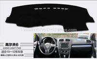 for volkswagen vw golf MK6 GTI 2006 2007 2008 2009 2010 2011 2012 2013 dashmats car styling accessories dashboard cover
