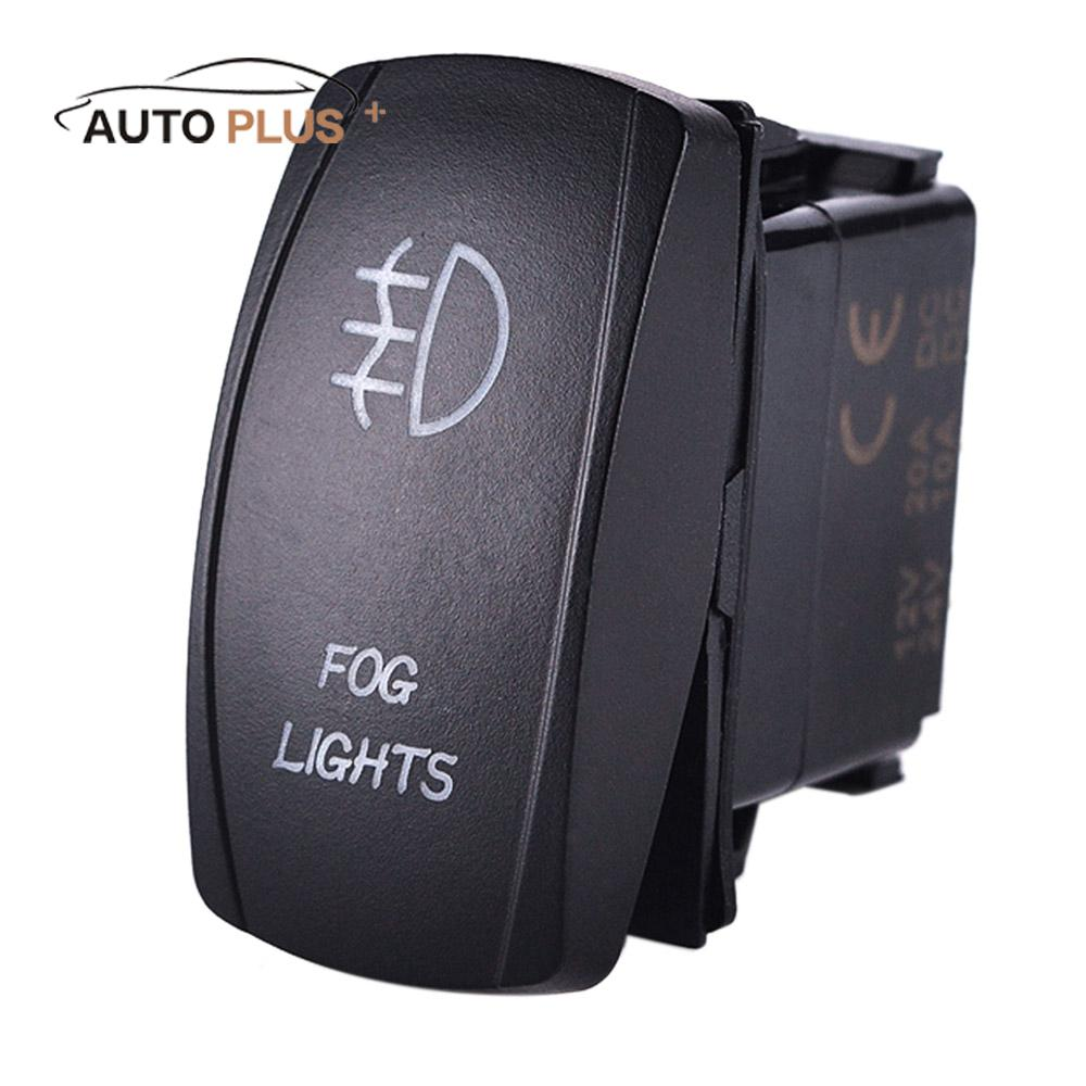 online get cheap wiring trailer lights aliexpress com alibaba group led fog light laser rocker on off switch relay wiring harness kit 12v for jeep rv boat trailer