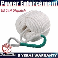 300Foot 1 2 Inch Twisted Three Strand Nylon Anchor Rope Boat With Thimble