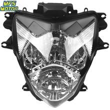For 11-12 Suzuki GSXR600 GSXR750 GSX-R GSXR 600 750 Motorcycle Front Headlight Head Light Lamp Headlamp Assembly 2011 2012 free shipping motorcycle front headlight front headlamps assembly for suzuki gsxr600 gsxr750 k4 04 05 year