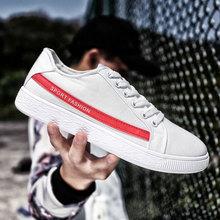 2018 New Fashion Canvas Vulcaniz Shoes Men Autumn Comfortable Shoes Mens Lace Up Brand Male Flat Shoe Handmade Sapatos krasovki