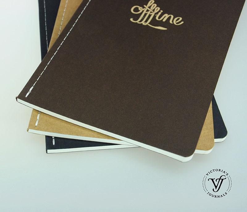 Victoria's Journaler OFFLINE JAPANESE NOTER Notebook Journal 3 Pieces - Block och anteckningsböcker - Foto 2