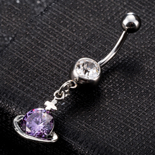 Surgical Steel Cross CZ Crystal Belly Button Rings Zircon Naval Piercing Rings Body Jewelry Drop Shipping цена и фото